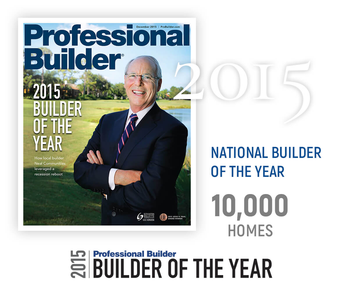 2015 National Builder of the Year