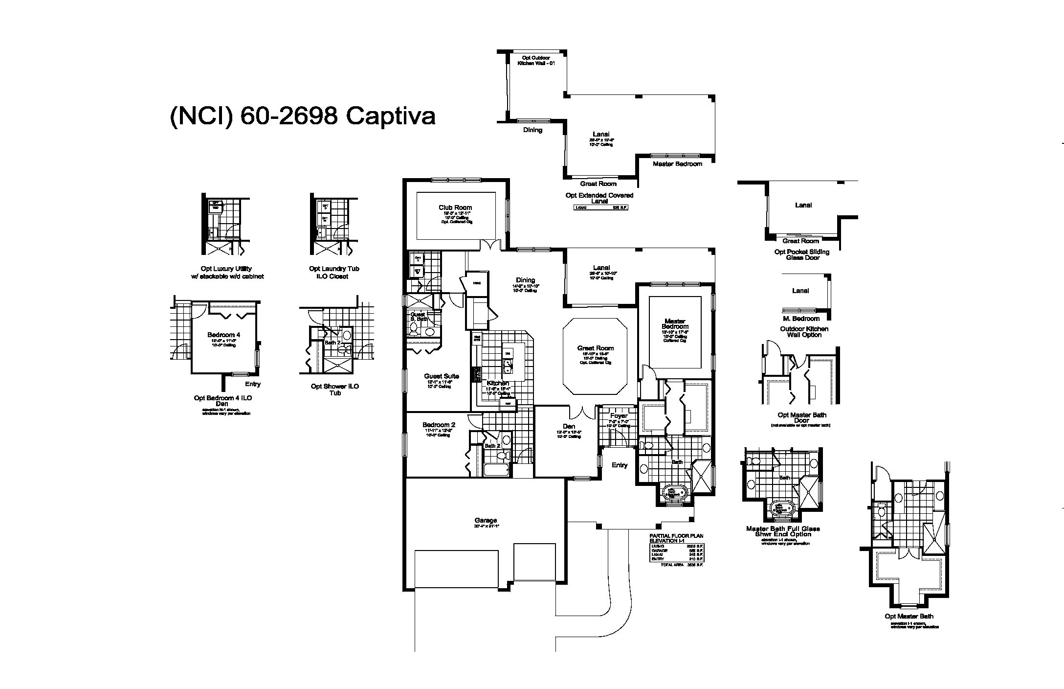 Captiva Floor Plan